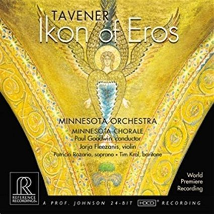Tavener: Ikon of Eros CD